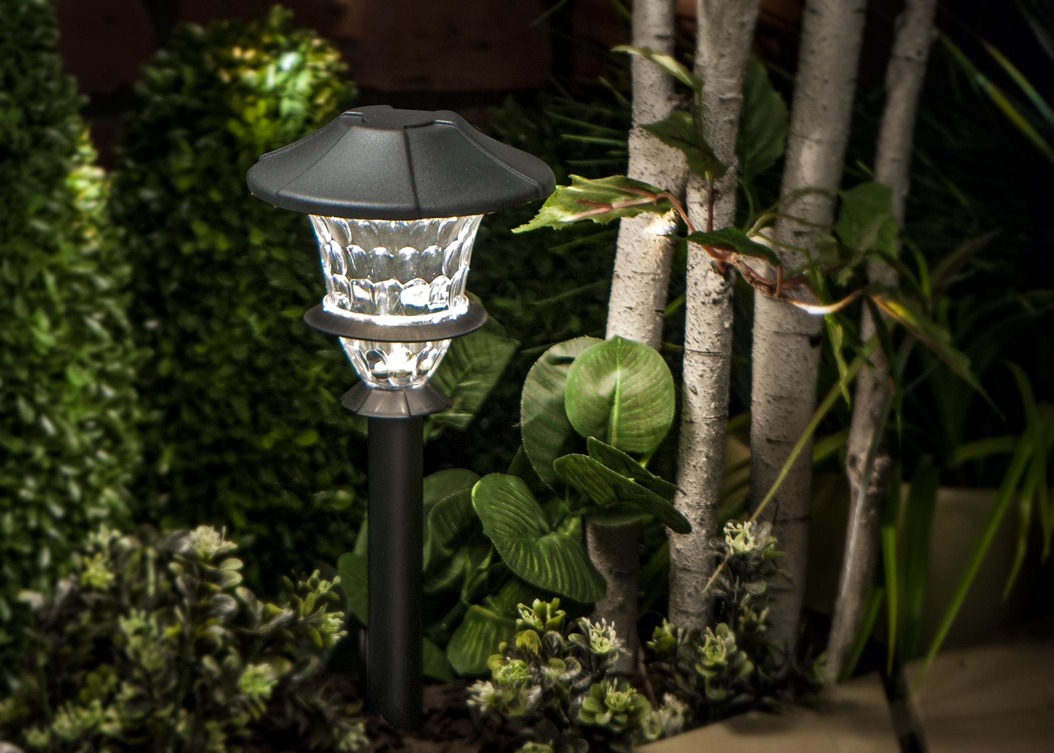 Paradise Led Low Voltage Landscape Lighting : Paradise gl bk low voltage aluminum led path light