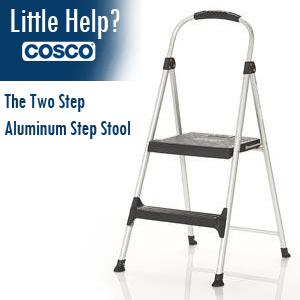 Amazon Com Cosco Signature 3 Step Stool Furniture Amp Decor