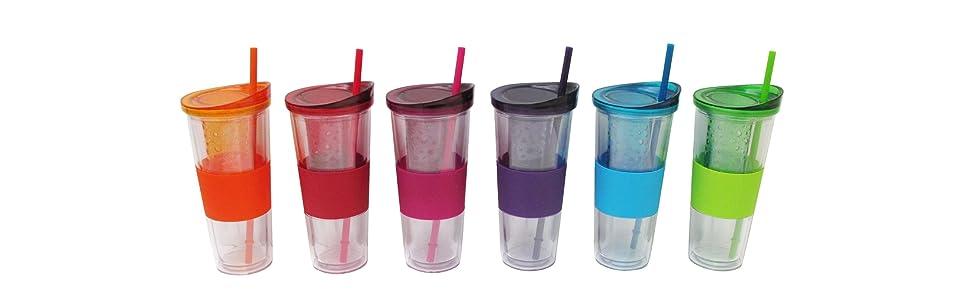 dfl, design for living, water bottles, fruit infuser, infuser, hydration, tritan