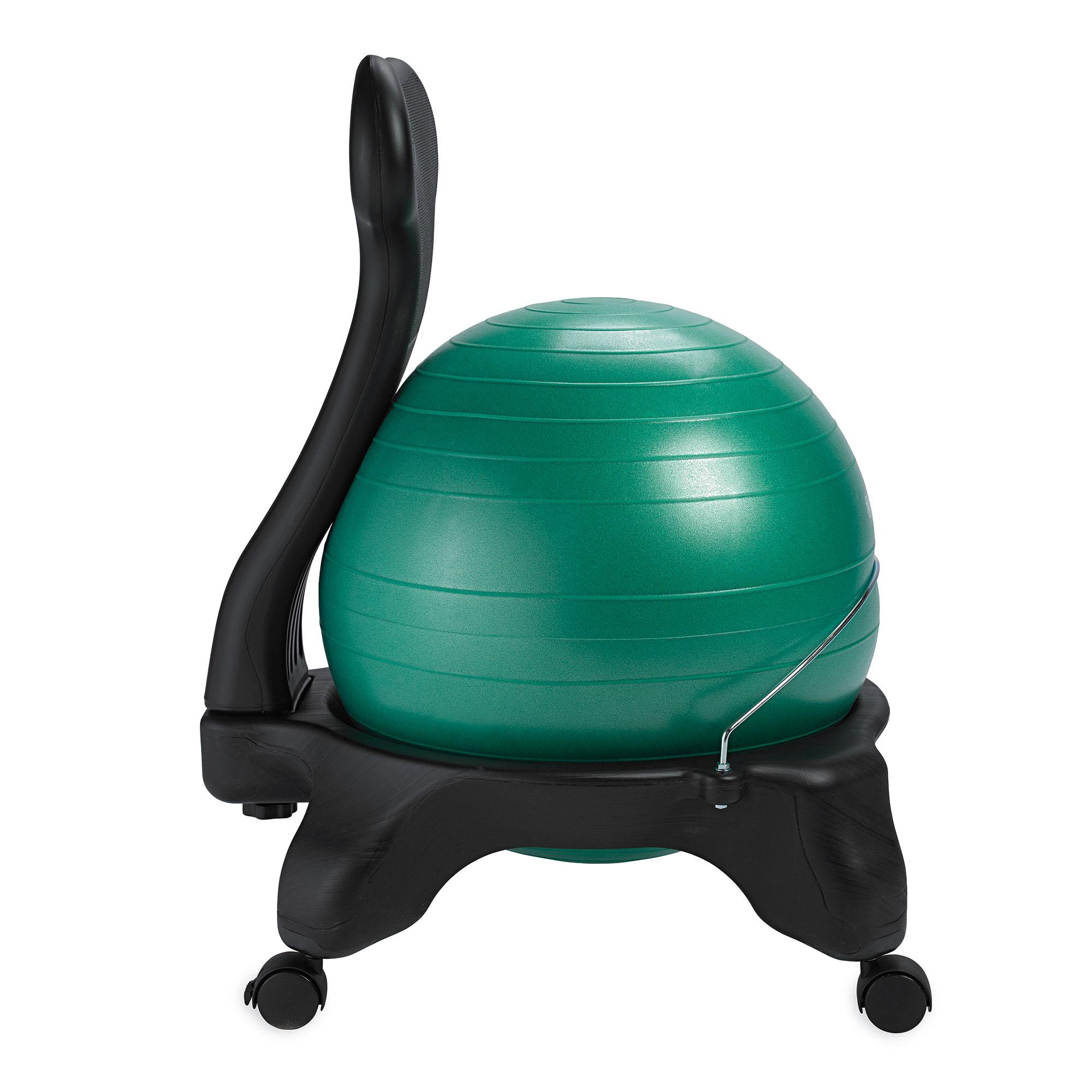 gaiam balance ball chair replacement ball 52cm ocean blue sports outdoors. Black Bedroom Furniture Sets. Home Design Ideas