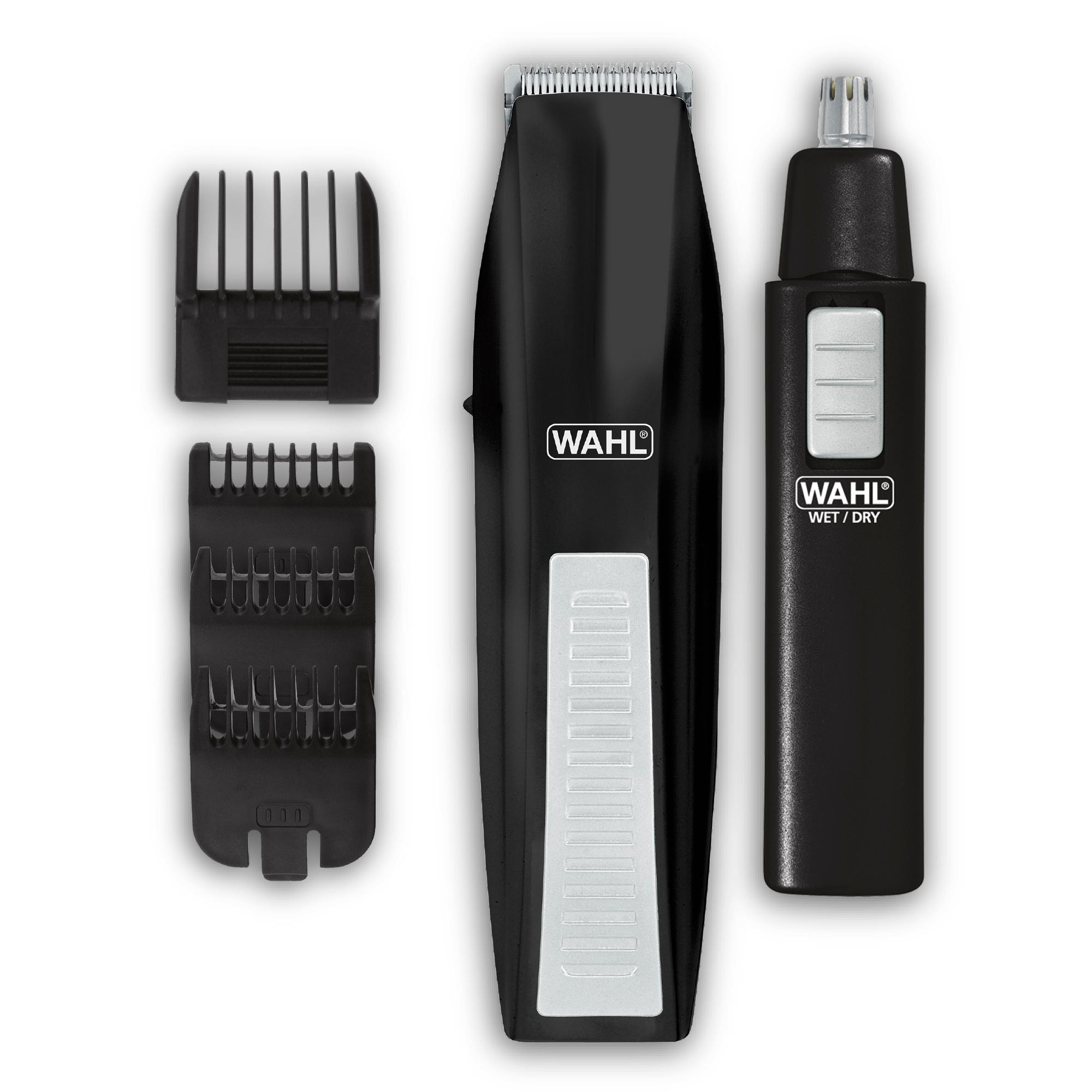 wahl beard trimmer with bonus personal trimmer 5537 1801 beauty. Black Bedroom Furniture Sets. Home Design Ideas
