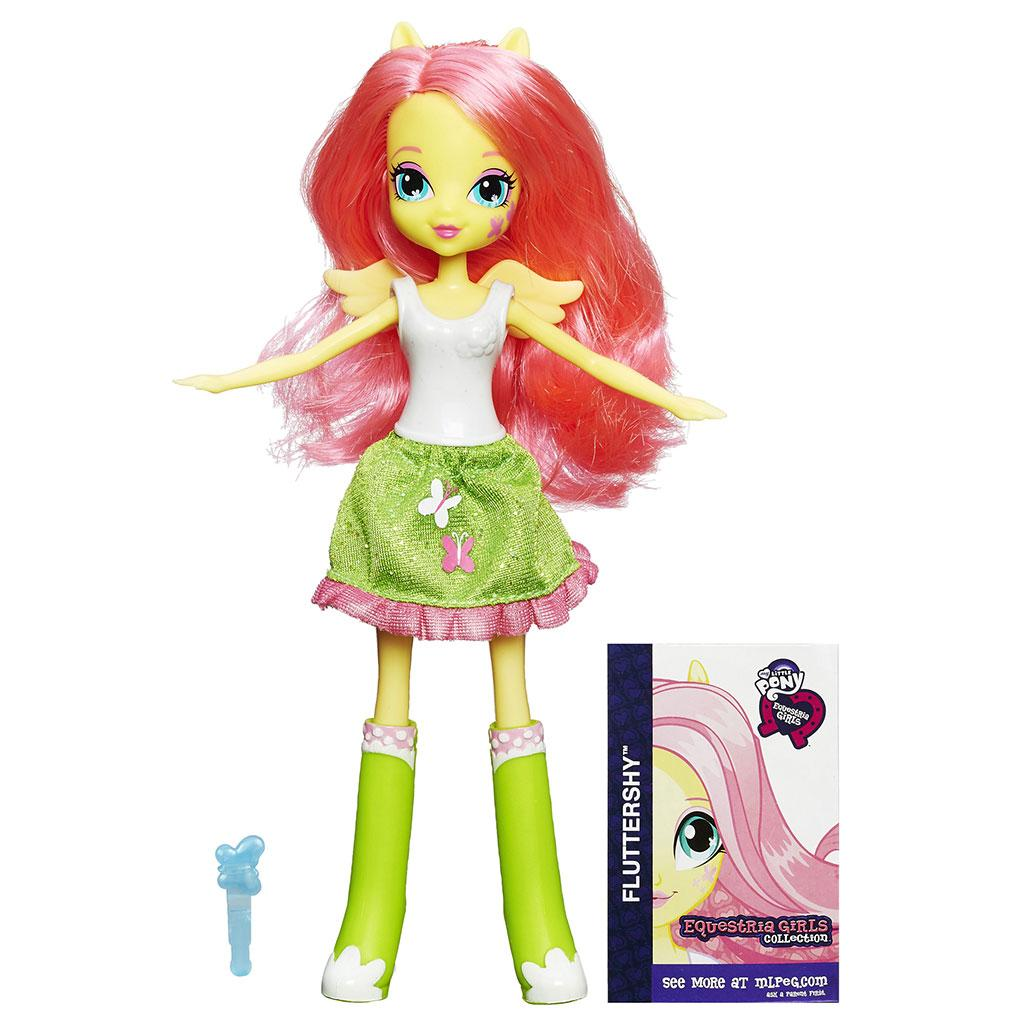 Amazon.com: My Little Pony Equestria Girls Collection Fluttershy Doll