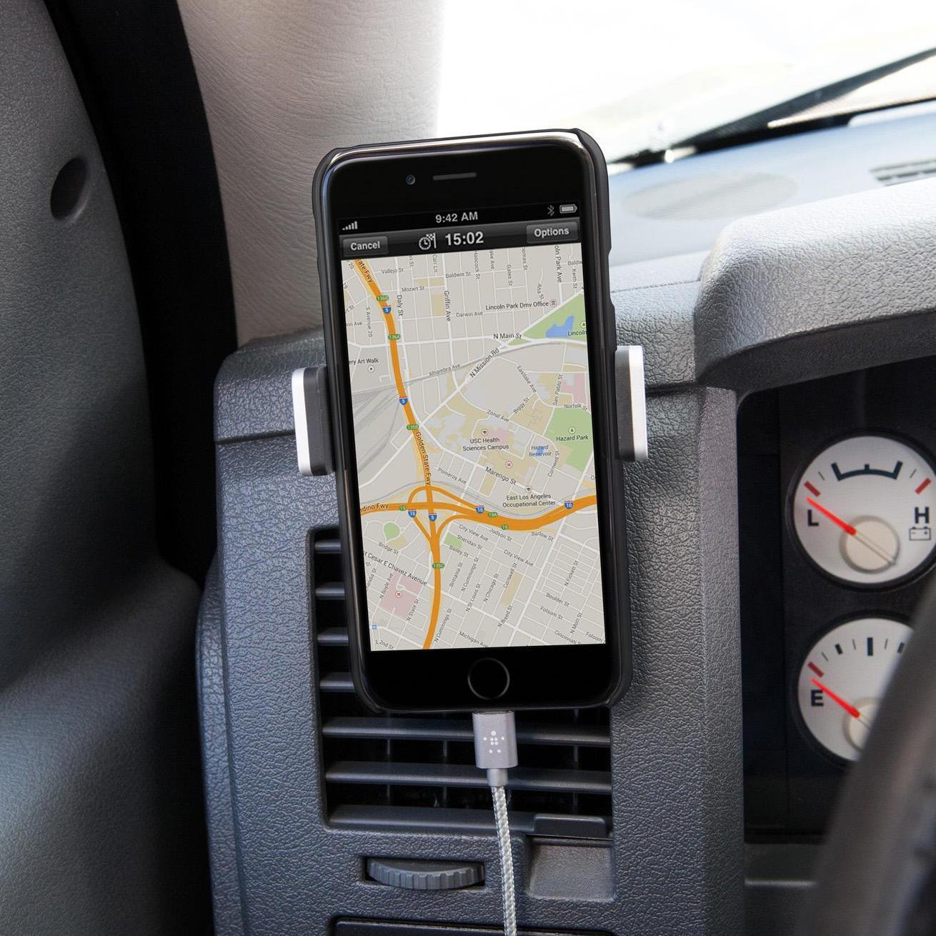 Portable universal adjustable car air vent mount holder 3