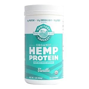 Amazon.com : Manitoba Harvest Hemp Pro 70 Protein Supplement, 16 Ounce : Sports Nutrition