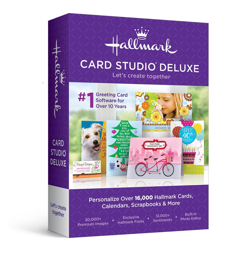 Hallmark Card Studio 2016 Deluxe
