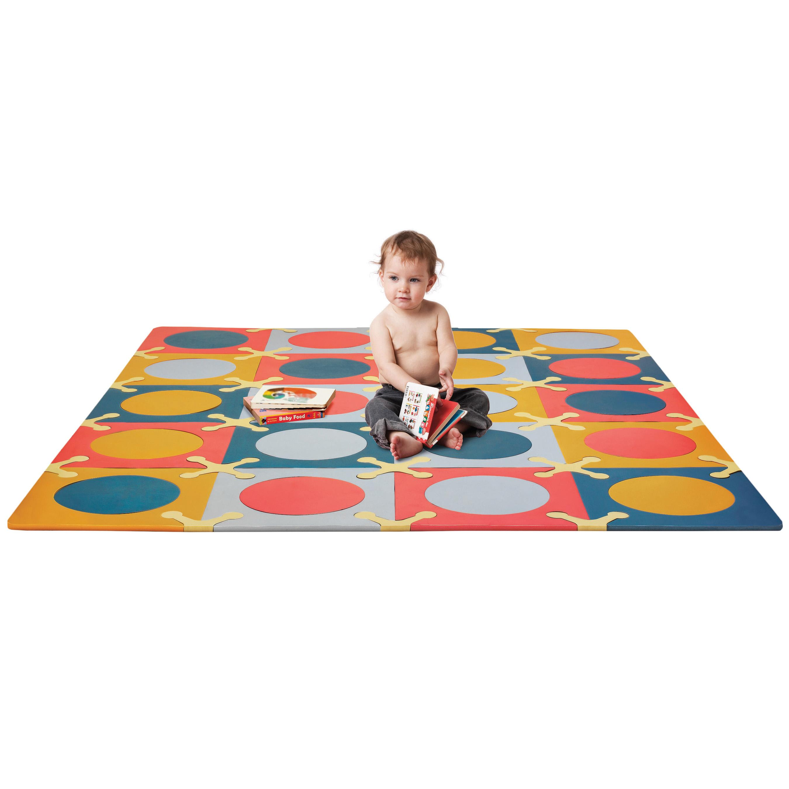 Skip Hop PlaySpot Floor Mat Brights 20 Count