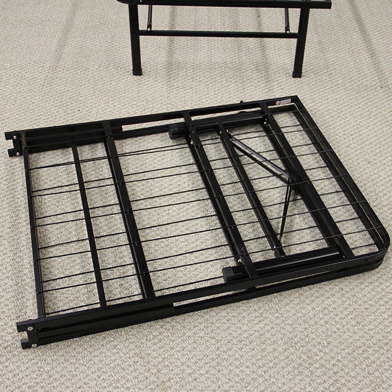 king metal bed frame instructions