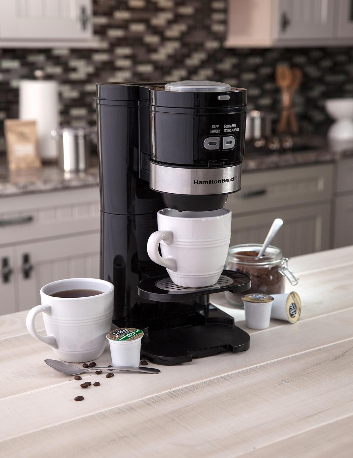 Hamilton Beach Coffee Maker Grind And Brew
