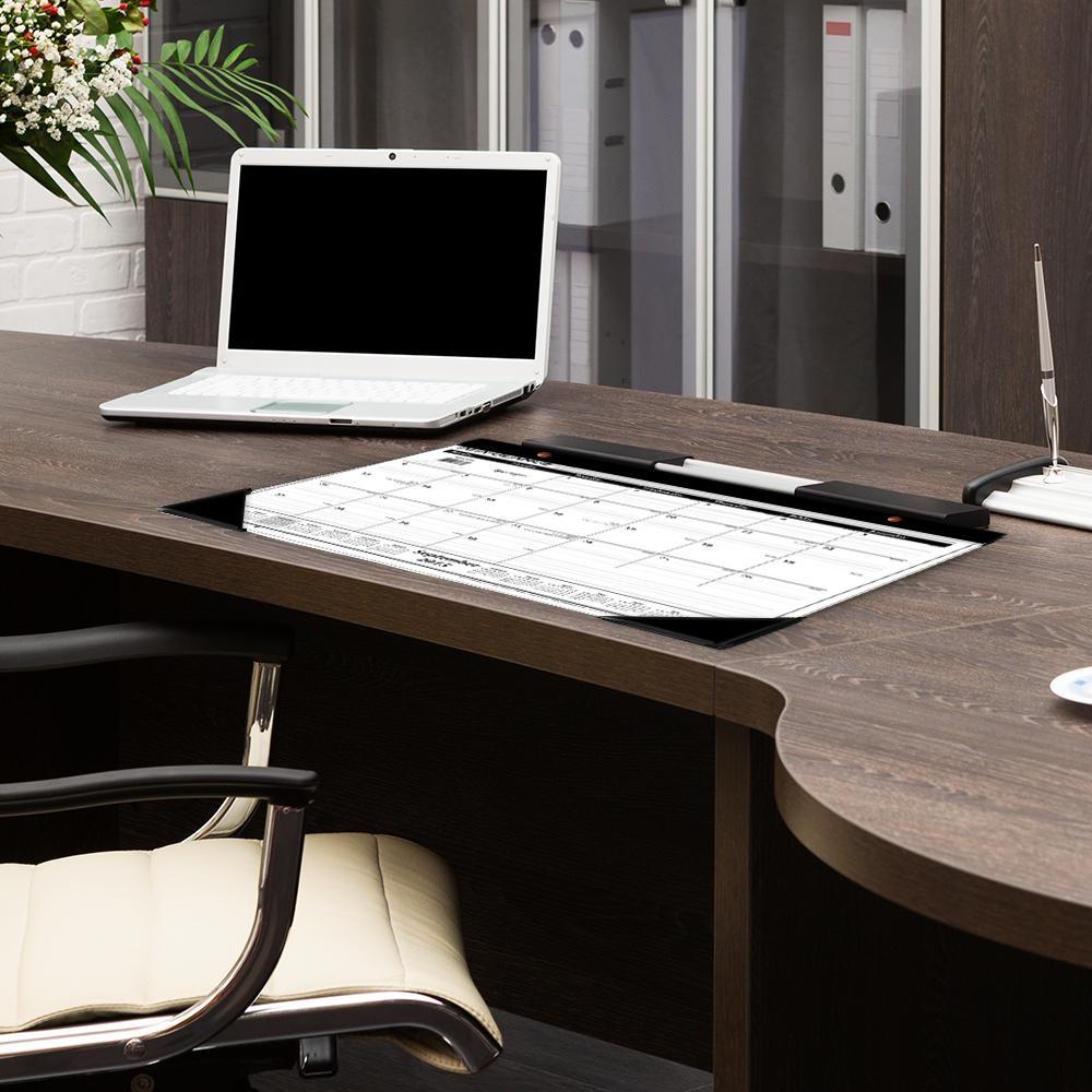 Year Calendar Desk : Desk pad calendar academic