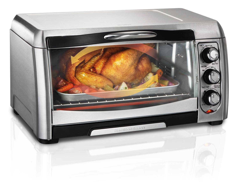 Amazon.com: Hamilton Beach 31333 Convection Toaster Oven: Kitchen ...