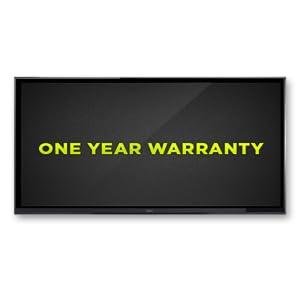 Seiki 4K One Year Warranty