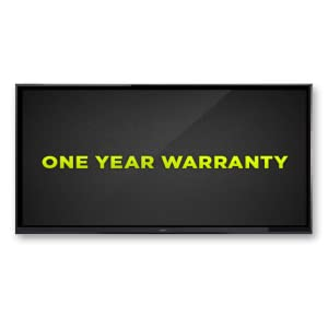 Seiki 4K One Year Warranty