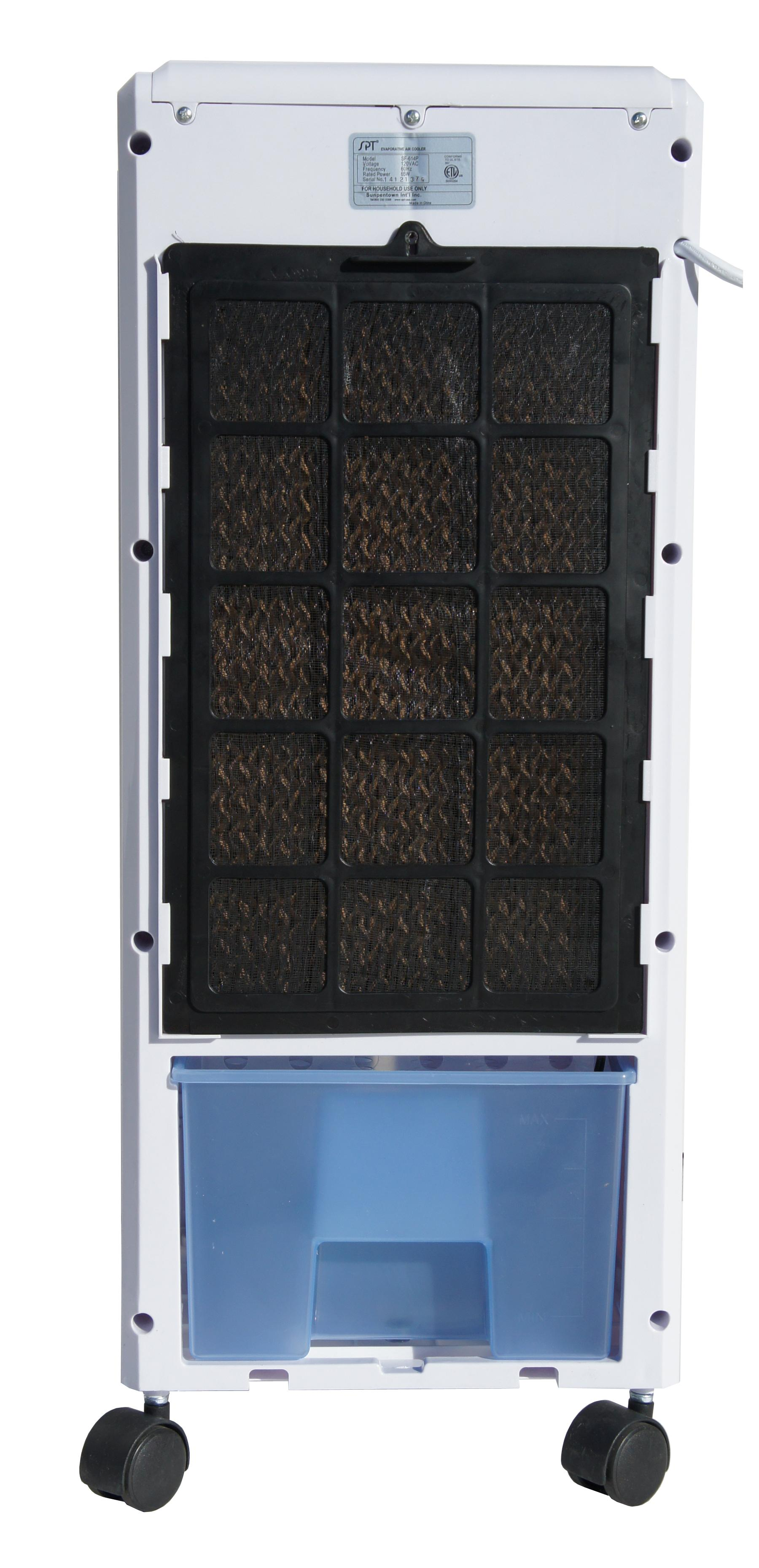 SPT SF 614P Evaporative Air Cooler with 3D Cooling Pad: Home & Kitchen #3F648C