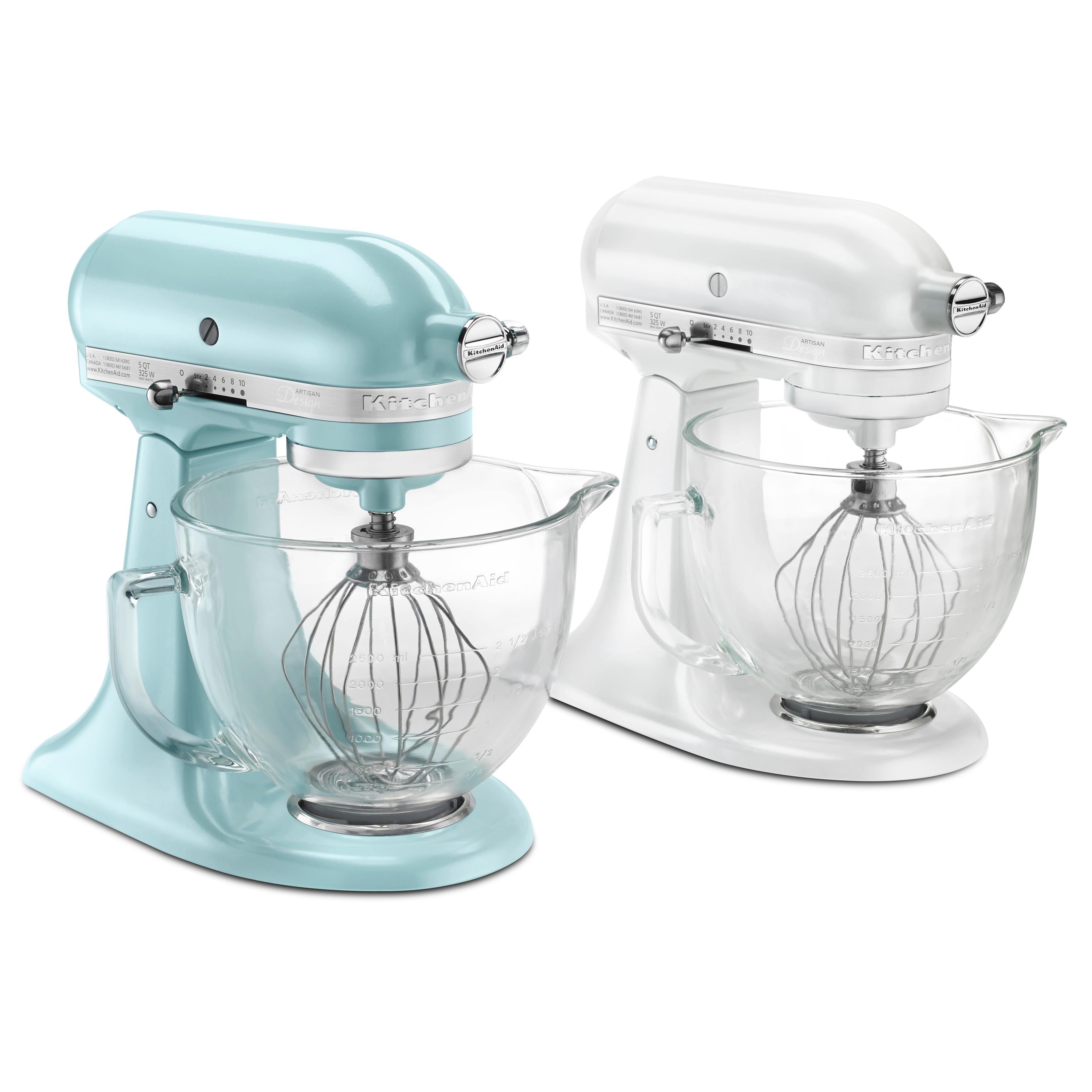 Kitchenaid ksm155gbca 5 qt artisan design for Kitchenaid f series