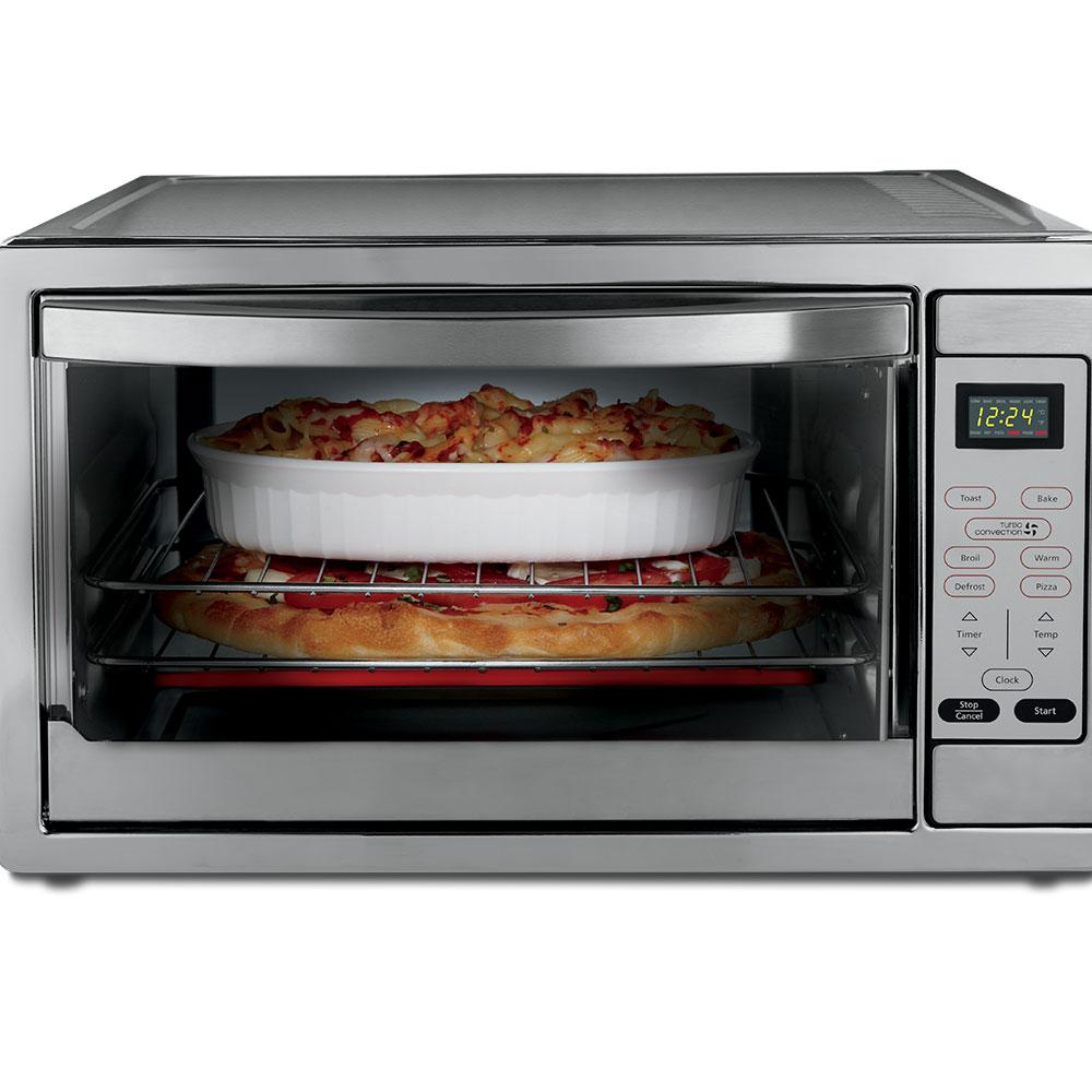 Large Capacity Countertop 6-Slice Digital Convection Toaster Oven ...