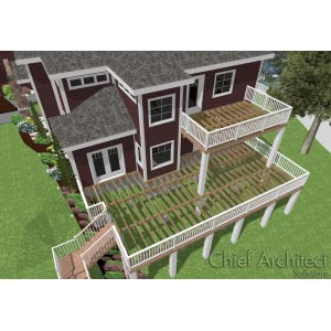 Landscaping - Chief architect home designer pro 2017 ...