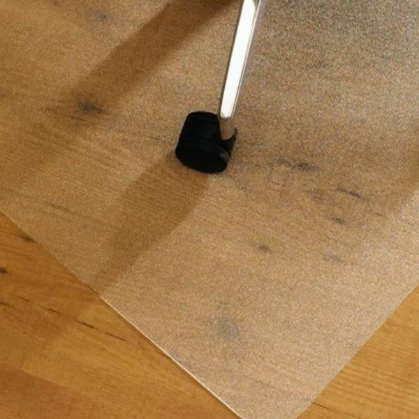 Cleartex advantagemat pvc chair mat for hard for Wood floor mat
