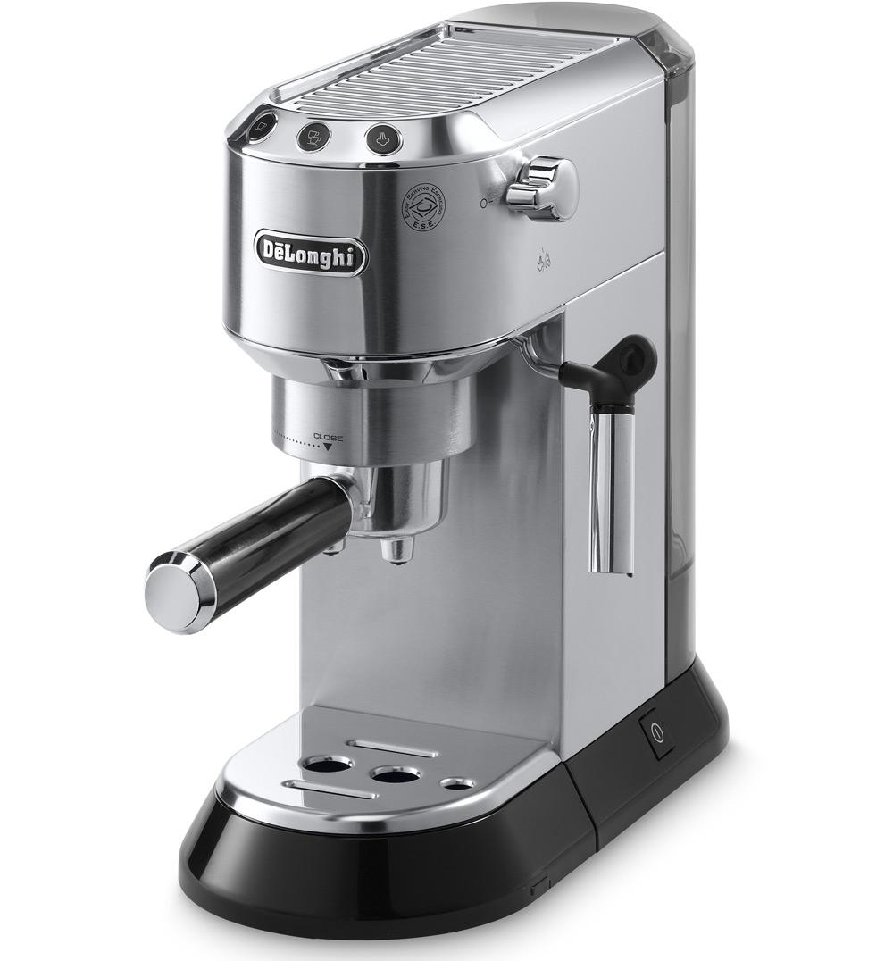 de 39 longhi ec680 dedica 15 bar pump espresso machine italian ebay. Black Bedroom Furniture Sets. Home Design Ideas