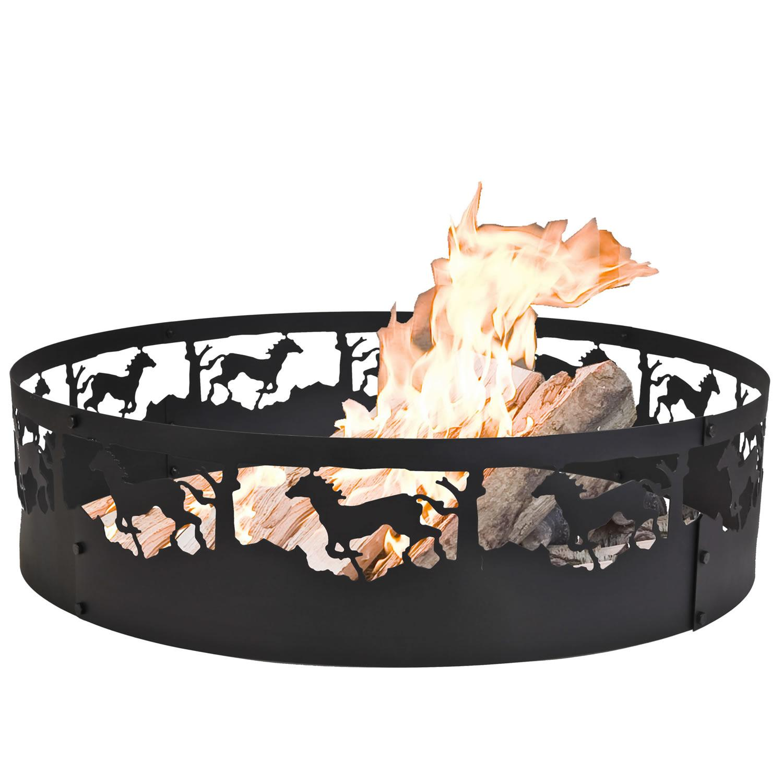 Amazon.com : CobraCo Moose Campfire Ring FRMOOS369 : Fire ...
