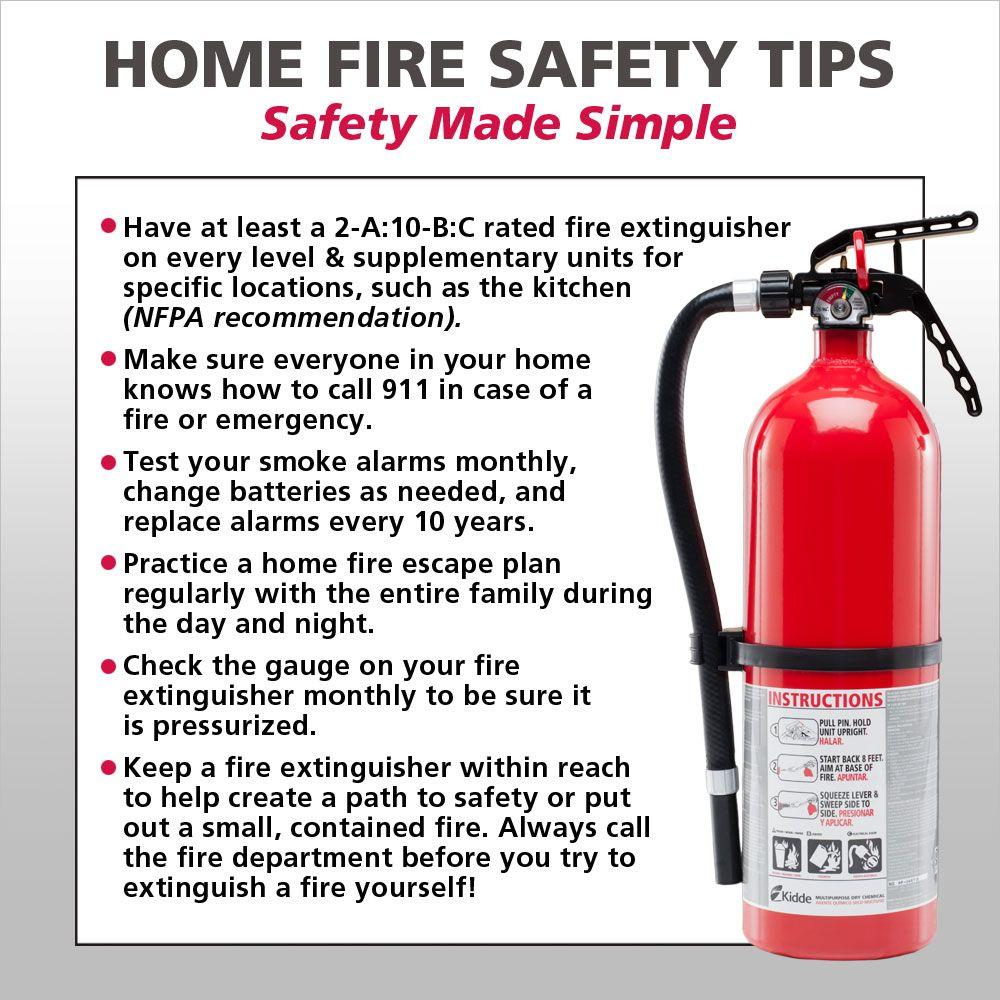Kitchen fire safety tips the image kid for Home safety facts