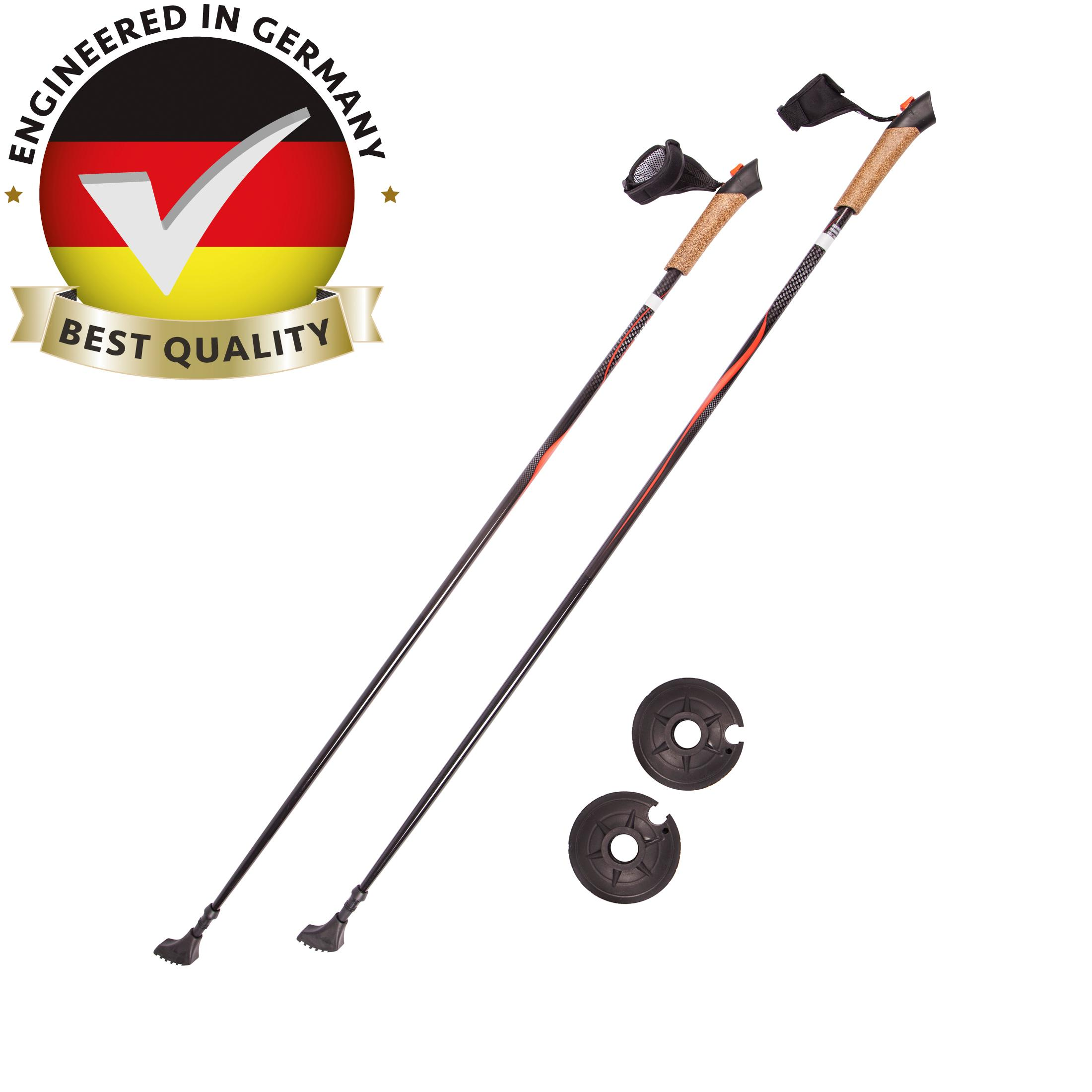 ultega carbon nordic walking poles sports. Black Bedroom Furniture Sets. Home Design Ideas