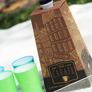 carafe; bulk beverage carrier; 96oz coffee tote; coffee to go;coffee container; beverage on the move