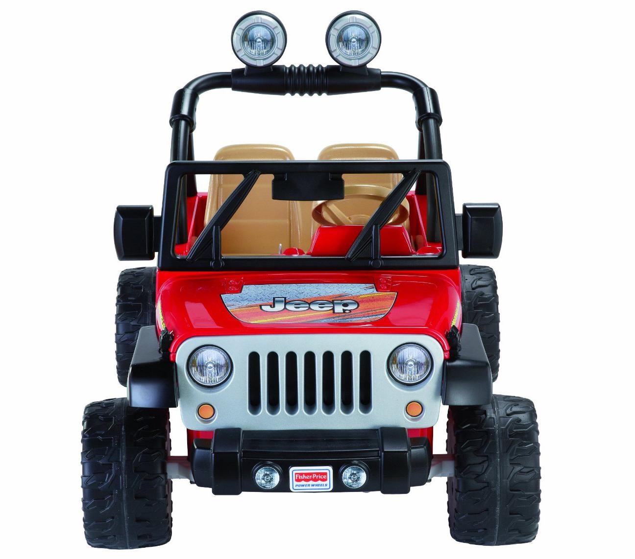 Fisher-Price Power Wheels Jeep Wrangler Kids Battery