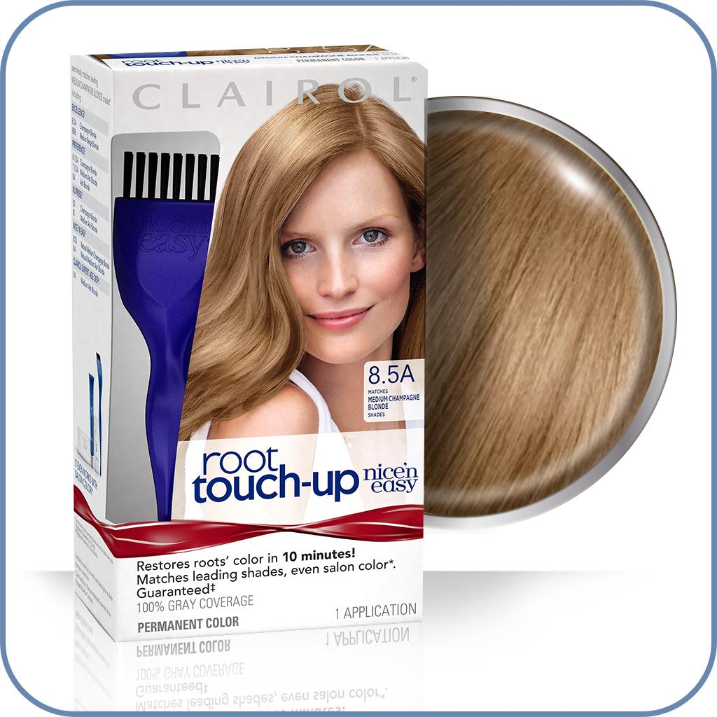 Amazon Com Clairol Nice N Easy Root Touch Up 8 5a Medium