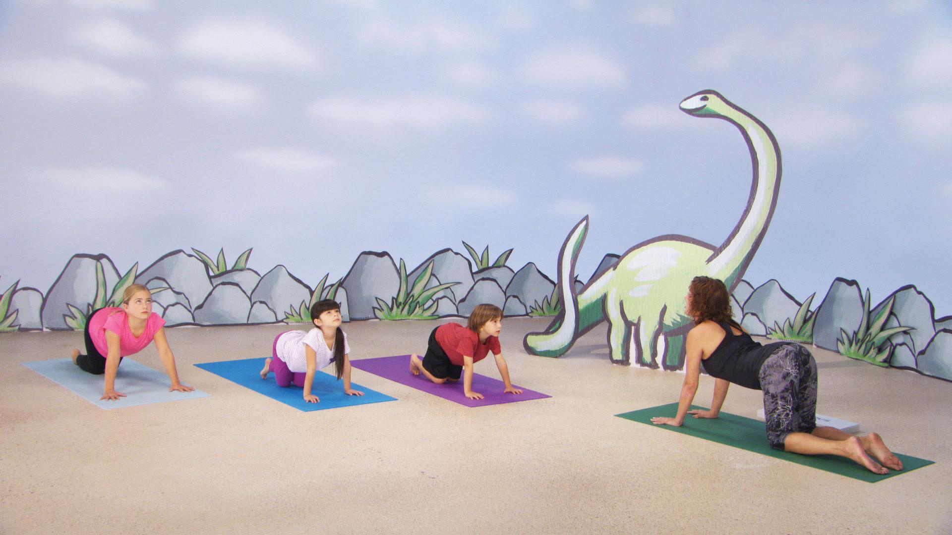 Amazon Com Yoga For Kids Dino Mite Adventure Jodi