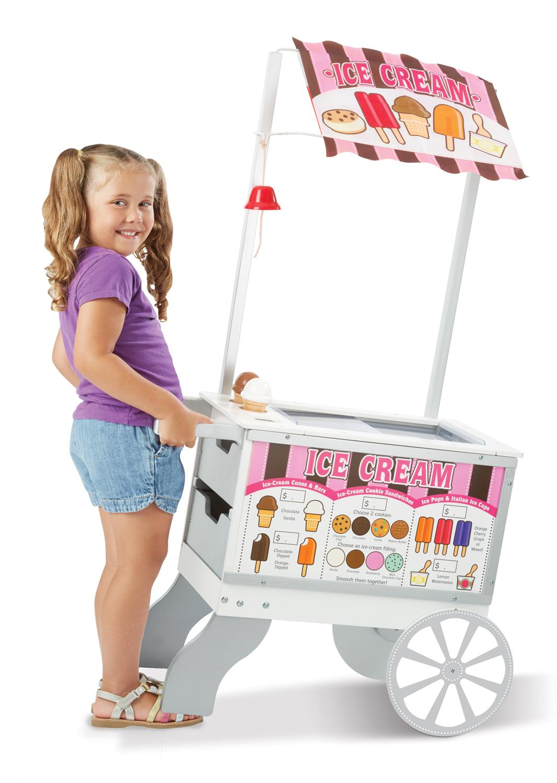 Amazon.com: Melissa & Doug Snacks and Sweets Food Cart: Melissa & Doug