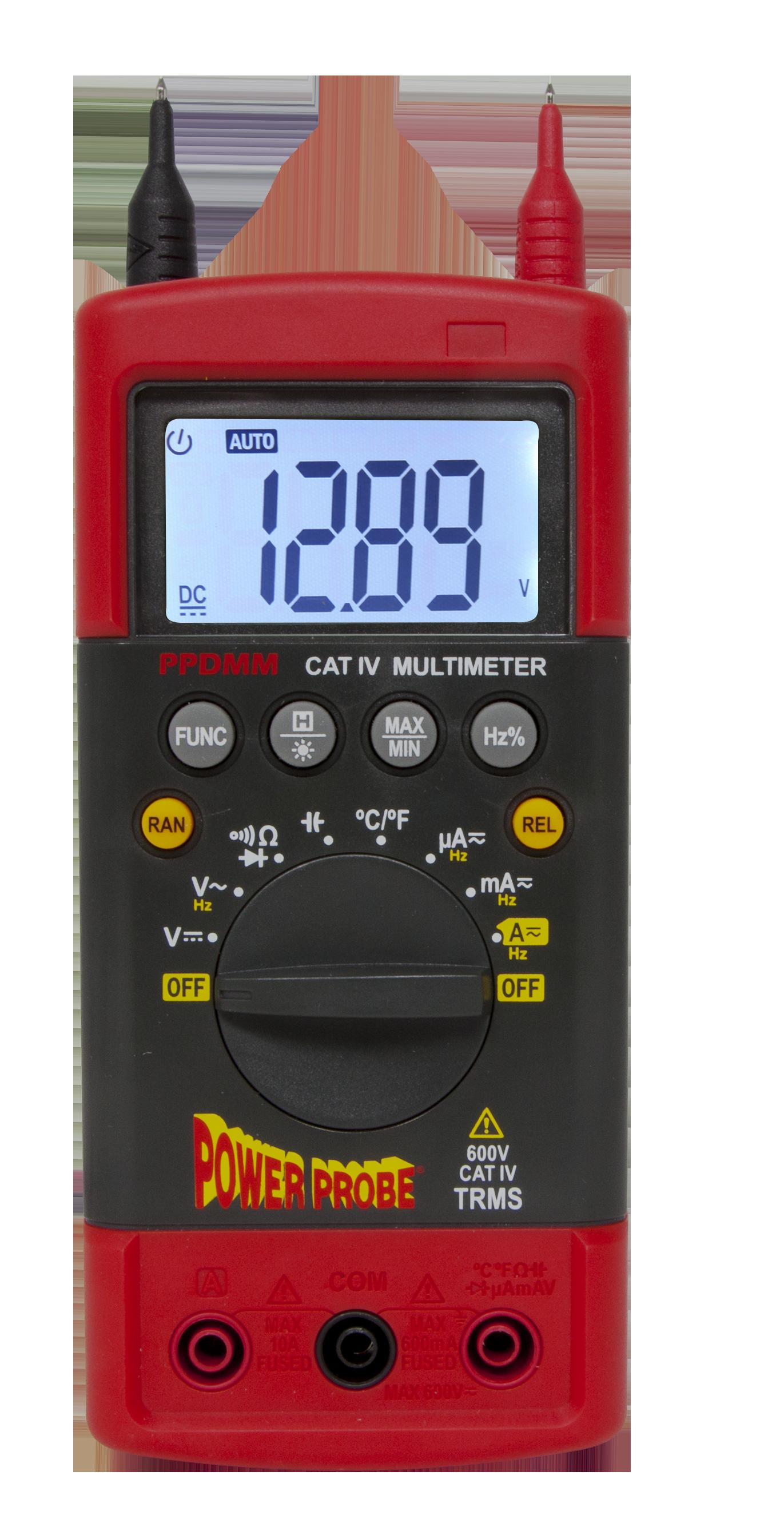 Automotive Digital Multimeter : Amazon power probe cativ digital multimeter automotive