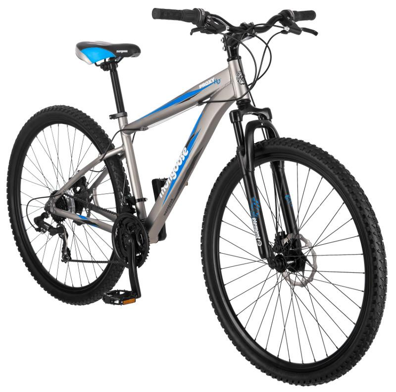 Amazon.com : Mongoose Proxy 29-Inch Mountain Bicycle, Matte Grey, 18