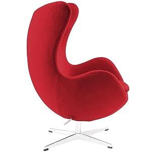 egg chair, arne jacobsen, mid-century, mid century, midcentury, lounge chair, organic, modern