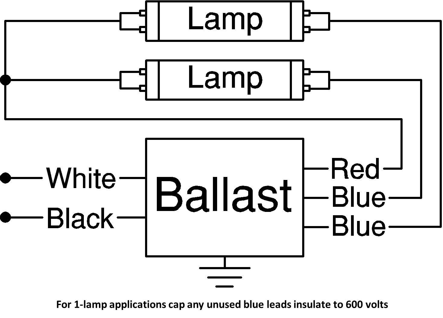 ballast wiring diagram t images bulb t ballast wiring ballast factor hpf fluorescent for 12 f32t8 linear lamps