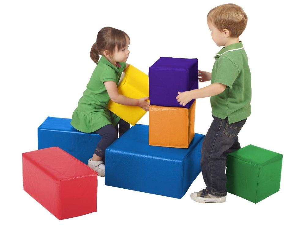 Builds Creativity Stacking Skills And Gross Motor Skill