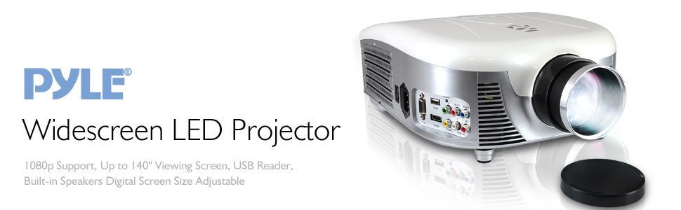 PRJD907 pyle widescreen projector