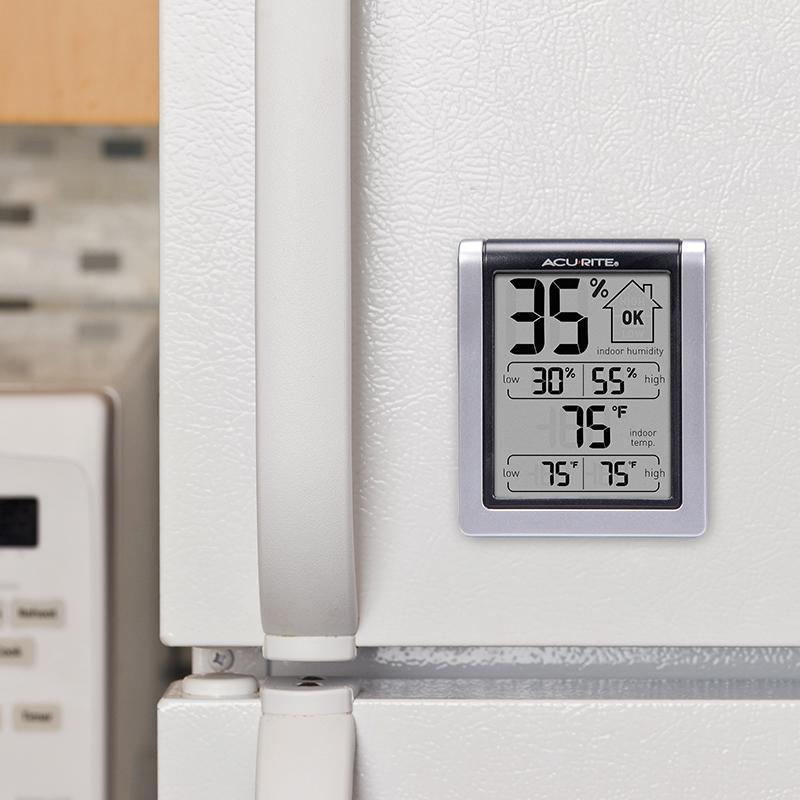 Amazon.com - AcuRite 00613A1 Indoor Humidity Monitor - Weather ...