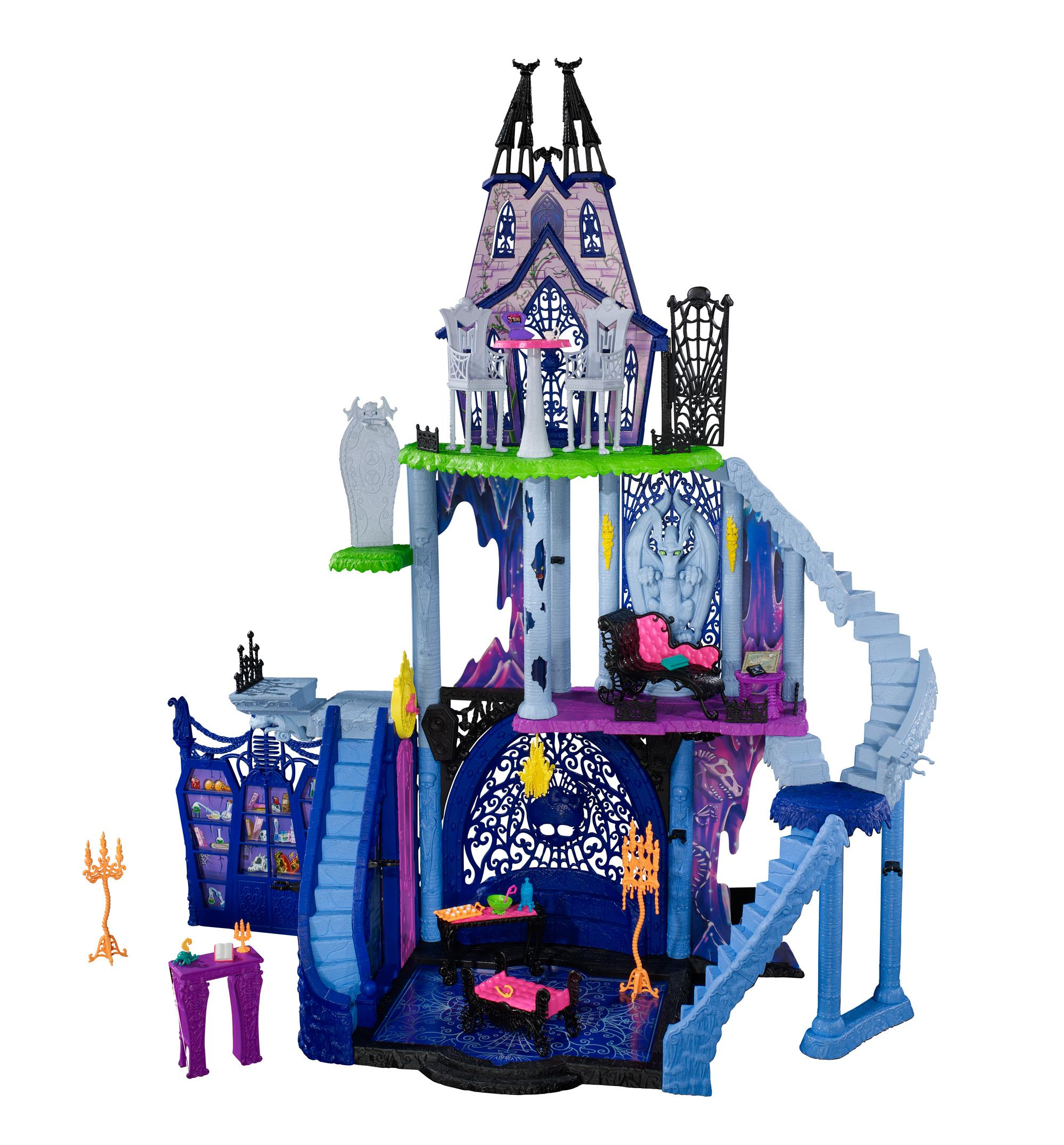 Monster High Toys : Amazon monster high freaky fusion catacombs playset