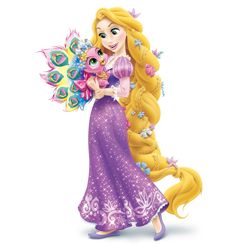 Disney Princess Palace Pets - Furry Tail Friends Doll - Rapunzel's