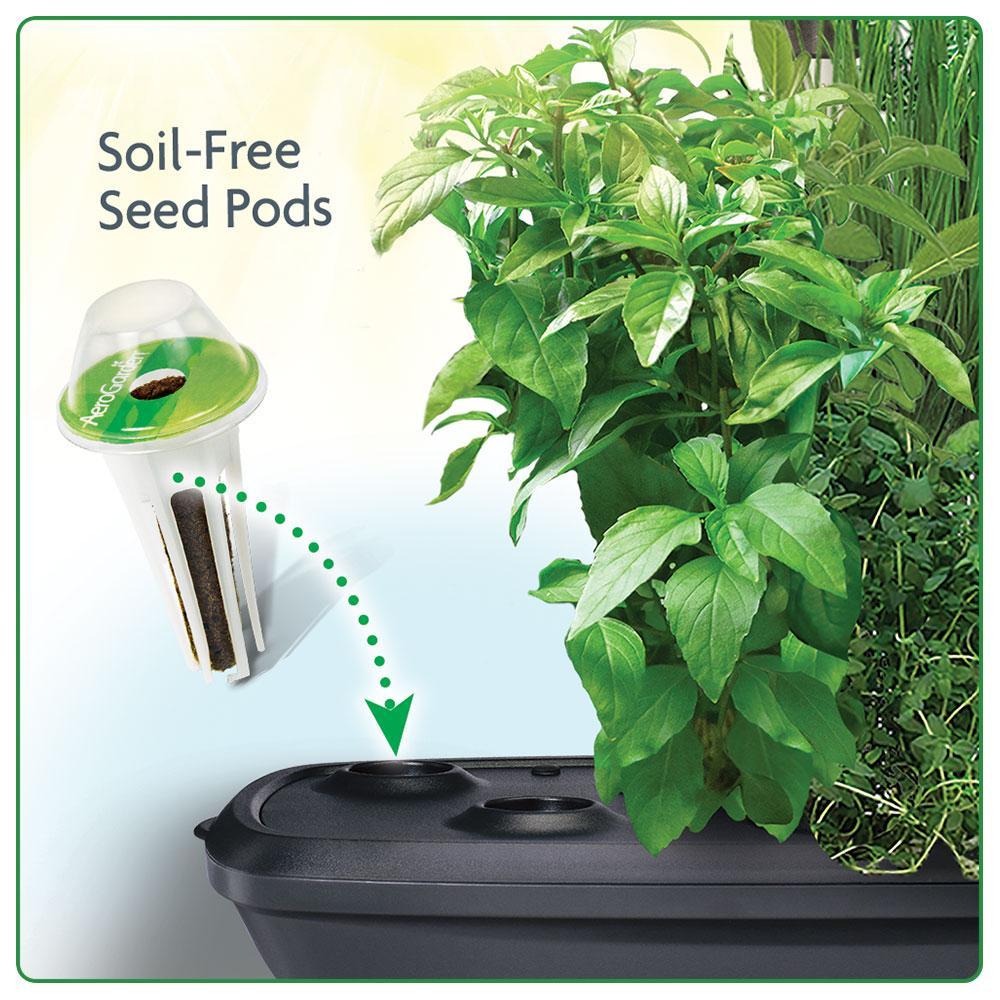 New miracle gro aerogarden extra led indoor garden w for Indoor gardening led