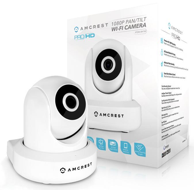 Amcrest ProHD 1080P WiFi Wireless IP Security Camera 1080P ...