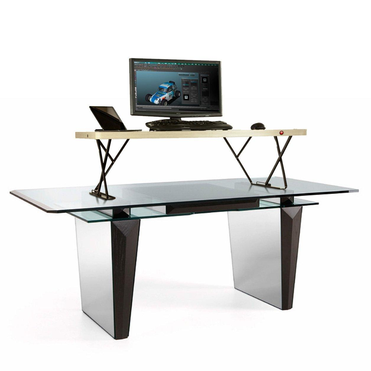 Amazon.com: Halter Electric Adjustable Height Table Top ...