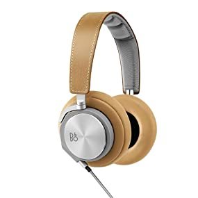 B&O PLAY by Bang & Olufsen BeoPlay H6 over ear headphones audiophile music lambskin leather sound
