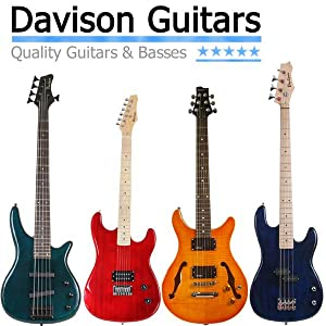 davison electric guitars and basses for sale