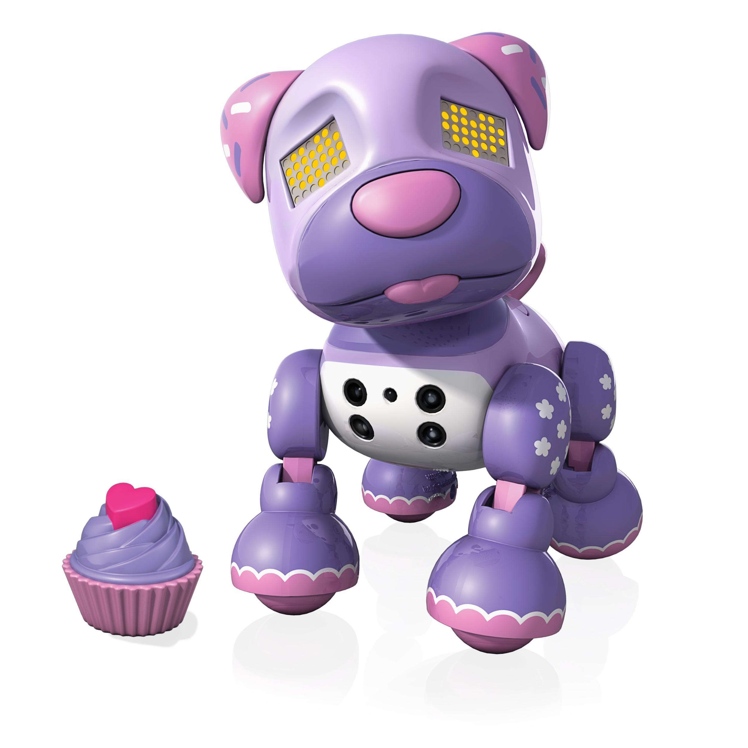Amazon com zoomer zuppies interactive puppy zuppy love cupcake