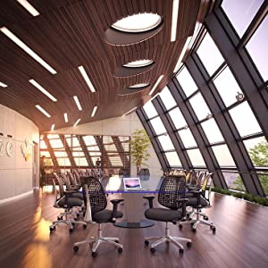 office chair, modern, adjustable, swivel, breahtable, comfortable, ergonomic, padded, armrests