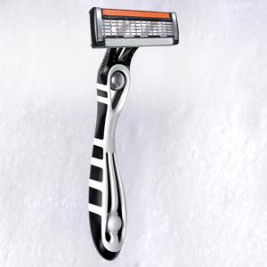 how to get the razor out of a disposable razor
