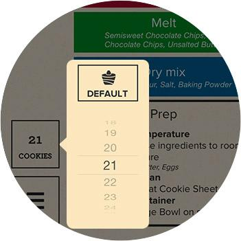 Perfect bake smart scale and recipe app cook for Perfect bake scale review