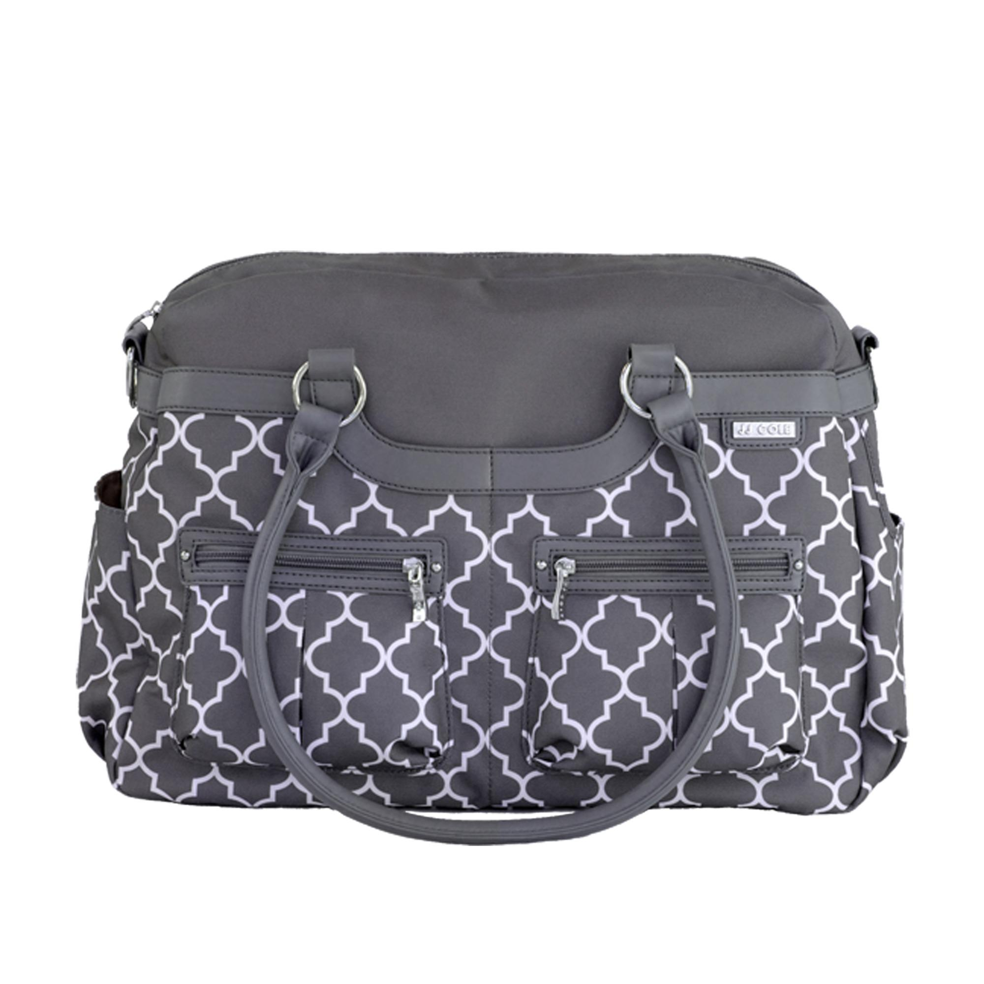 jj cole satchel diaper bag stone arbor. Black Bedroom Furniture Sets. Home Design Ideas