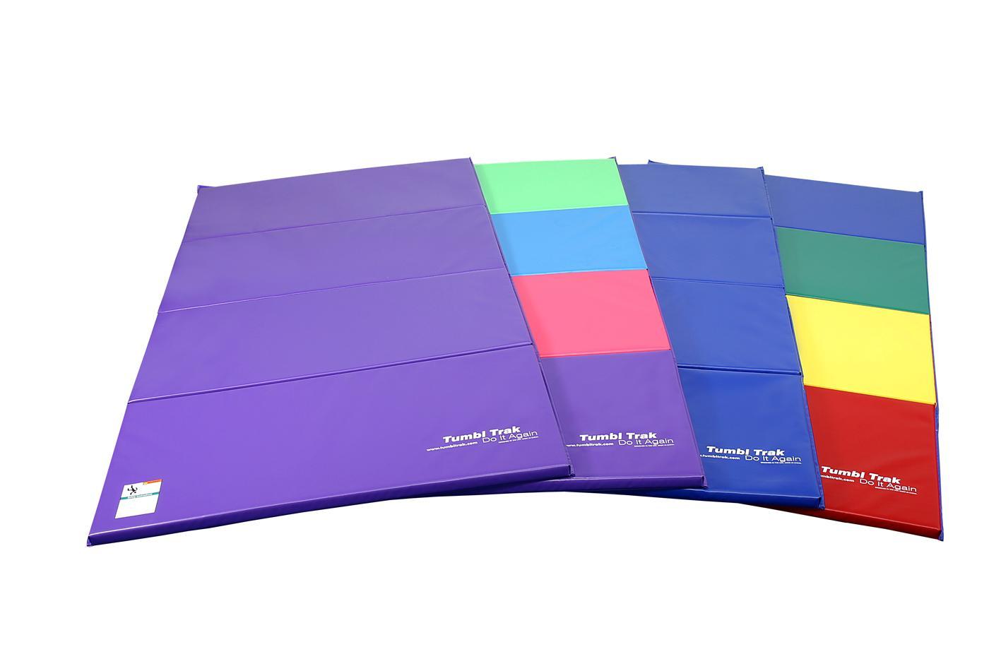 Amazon Com Tumbl Trak Folding Gymnastics Mat 4ft X 8ft
